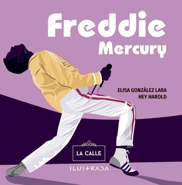 Freddie Mercury, biografía ilustrada del cantante de Queen.