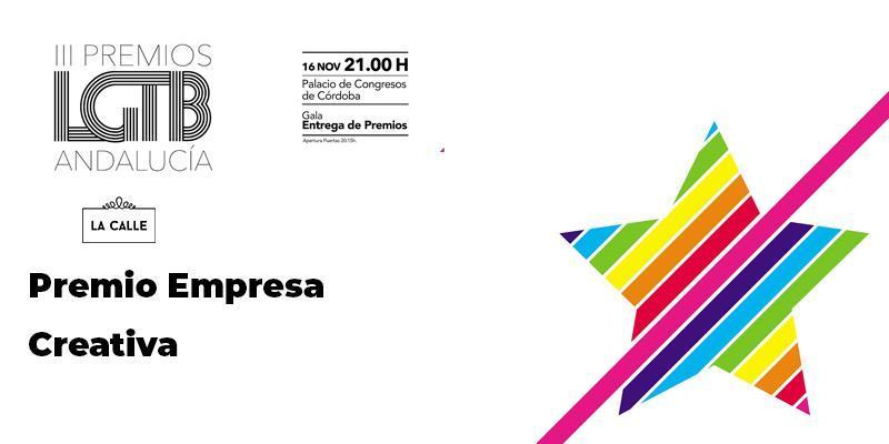 """Editorial La Calle recibe el Premio Andalucía LGTB como """"empresa creativa"""""""