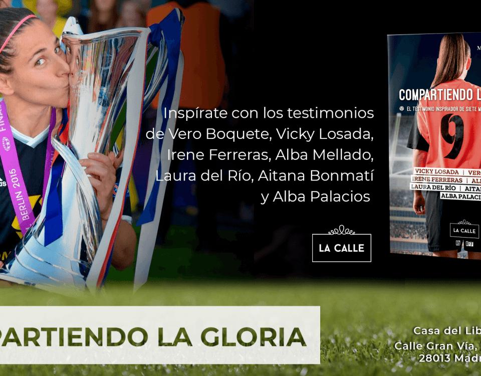 Editorial La Calle presenta el libro 'Compartiendo la gloria'